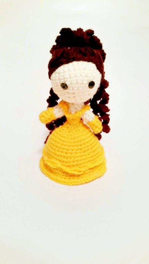 Amigurumi Star Wars Deutsch : Amigurumi Princess Belle Doll Made to Order by ...