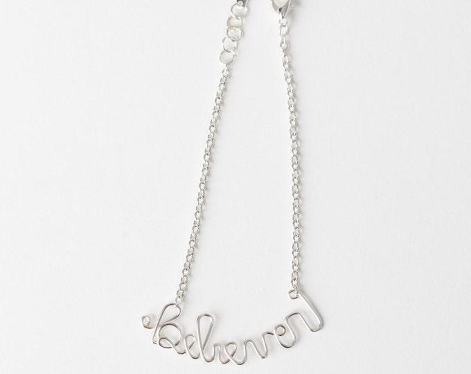 Believer Bracelet (Silver)