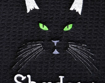 Premium, Custom, Personalized, Pet Placemat, Cat Food Mat , Pet Food Mat,  Cat Dish Mat,  Cat Feeding Mat, Schroeder & Trymayne