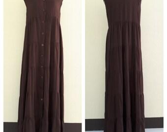 Sleeveless Cardigan/summer dresses/Maternity dress/ maxi summer dress/long dress/boho maxi dress/ Plus Size XS - 5XXL