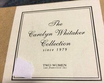 The caroling on Whitaker collection