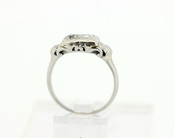 Duo Diamond 14K Gold Ring