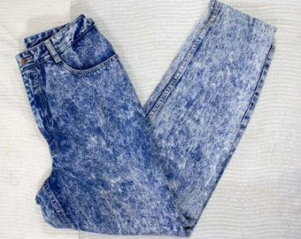 80s Acid Wash Jeans | 80s Jeans | 80s Denim | 80s Acid Wash Denim | 80s Denim Jeans | 1980s Jeans | 80s Blue Jeans | 30 Waist