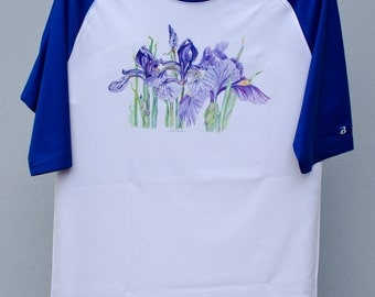 Togetherness (iris) Baseball Style Tee Shirt