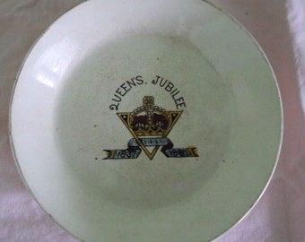 Queen Victoria Queen's Jubilee Cup & Saucer