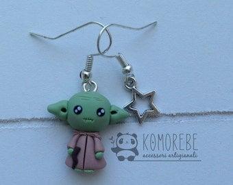 Yoda, Star Wars, Earrings