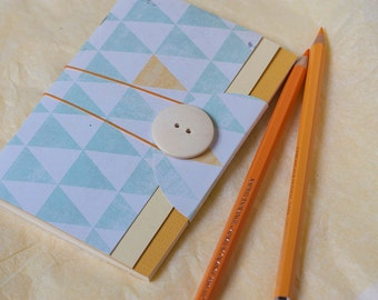 Pocket Journal, Recipe Notebook, Travel Notebook, Art Notebook, Pocket Notebook, Handmade Gift, Small Gift, Travel Gift, Travel Journal