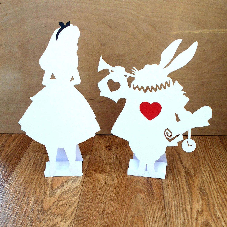 Alice In Wonderland Decorations Alice In Wonderland Decorations Props Bundle White Rabbit