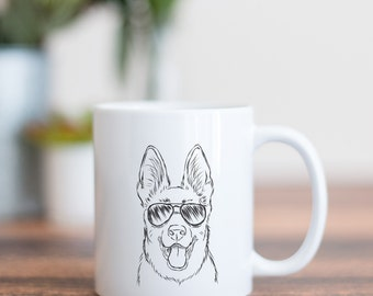 Brutus German Shepherd Dog Mug