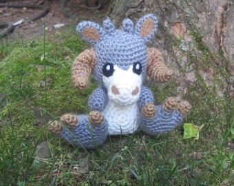 Star Wars Inspired: Baby TaunTaun Amigurumi (Crochet Plushie/Plush Toy) - MADE TO ORDER