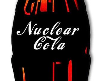 Nuclear Cola Bottle Sign RG7584