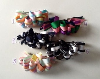 Grosgrain Loopy Bow
