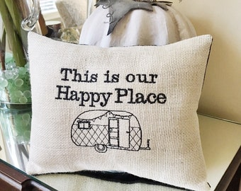 happy pop up trailer camping kitchen dish by makingsomethinghappy. Black Bedroom Furniture Sets. Home Design Ideas