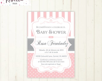 baby shower invitation spanish boy or girl baby shower spanish, Baby shower invitations