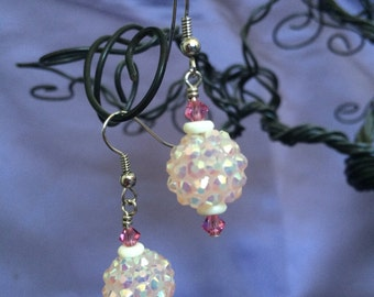Shiny Dangle Earrings