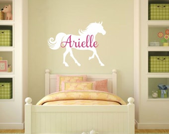 Chase Your Dreams Wall Decal With Horse Horse Wall Decals - Wall decals horses
