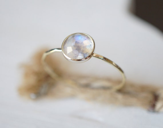 moonstone ring white gold moonstone jewelry mystic by luxuring