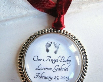 Christmas Ornament Keepsake, miscarriage ornament, miscarriage gift, baby loss ornament, baby loss gift, child loss gift