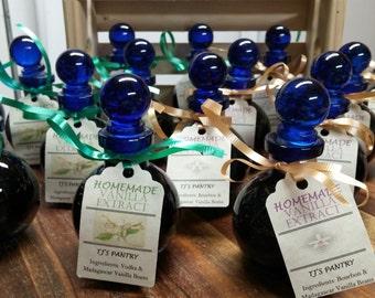 TJ's Pantry, Madagascar Vanilla, Homecrafted, Ball Glass Jar, Bourbon, Vodka or Rum Base