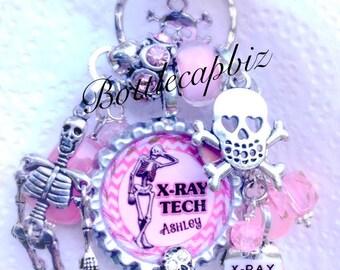 X-Ray Tech KeyChain/PurseCharm
