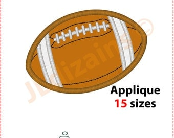 Football Applique Design. Football embroidery design. Embroidery designs football. Applique design football. Ball Machine embroidery design