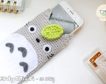 Totoro Inspired Cellphone Pouch