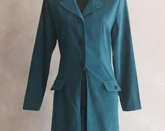 Vintage Green Blazer 70's