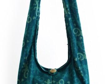 Boho  bag, Salamander, Lizard, Hobo, Sling, Hobo hippie, Hippie hobo, Shoulder, Thai, Gypsy, Hippie purse Hobo sling bag.