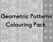 Geometric Patterns Colour...