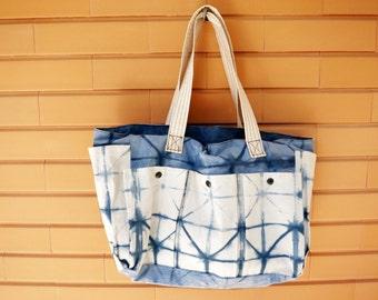 Hand tinted handbag