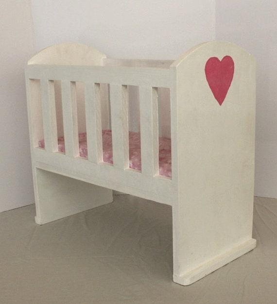 Custom Baby Doll Crib Wooden Doll Crib 18 By Stepoffaithcreations