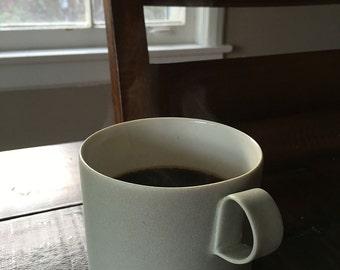 Porcelain Mug, Ceramic Cup, Coffee Cup, Moss Green Ceramic Cup, Tea Cup