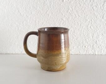 Stoneware Coffee Cup / Vintage Coffee Cup, Mug