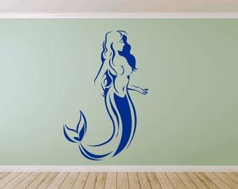 Mythical Mermaid Wall Sticker Decal (*72)