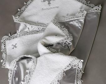 Christening blanket Baptism blanket Baby Blanket Baptism gift for goddaughter Christening gift for godson personalized baptism towel