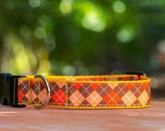 Fall Autumn Dog Collar  / Dog Collars Australia