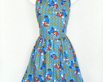 Super Mario dress.