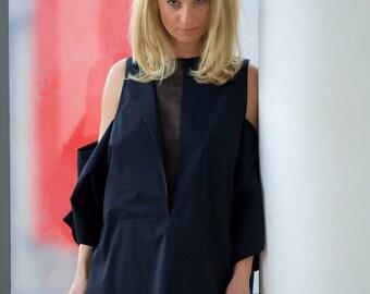 Womens Tunic Dress, Little Black Dress, Black Plus Size Dress, Mini Dress, Oversize Tunic Dress, LBD, Black Prom Dress, Boho Evening Dress