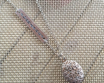 Abundance Essential Oil Diffuser Necklace, Aromatherapy Necklace  AS0184