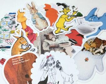 Large Storybook Die Cuts,Storybook Cut Outs,Scrapbooking,Scrapbook Supplies,Scrapbooking Die Cuts,Storybook,Storybook Baby Shower,Version 2