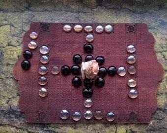 52d. Hnefatafl set viking board game , medieval game, reenactment