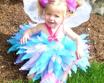 Abby Cadabby Inspired Tutu Dress, Abby Cadabby Inspired Costume, Abby Cadabby Inspired Tutu, Fairy Tutu, Fairy Tutu Dress, Fairy Costume,
