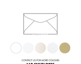 11B Invitation Reply Envelope 145mm  X 90mm (pack of 10)