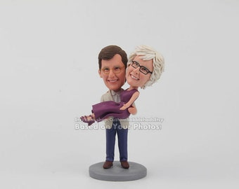 Custom bobblehead - Personalized mom and dad gift, gift ideas for mom and dad, birthday gifts, Christmas gifts for mom and dad, Gift for mom