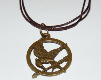 Unofficial Hunger Games Mockingjay Pendant Necklace