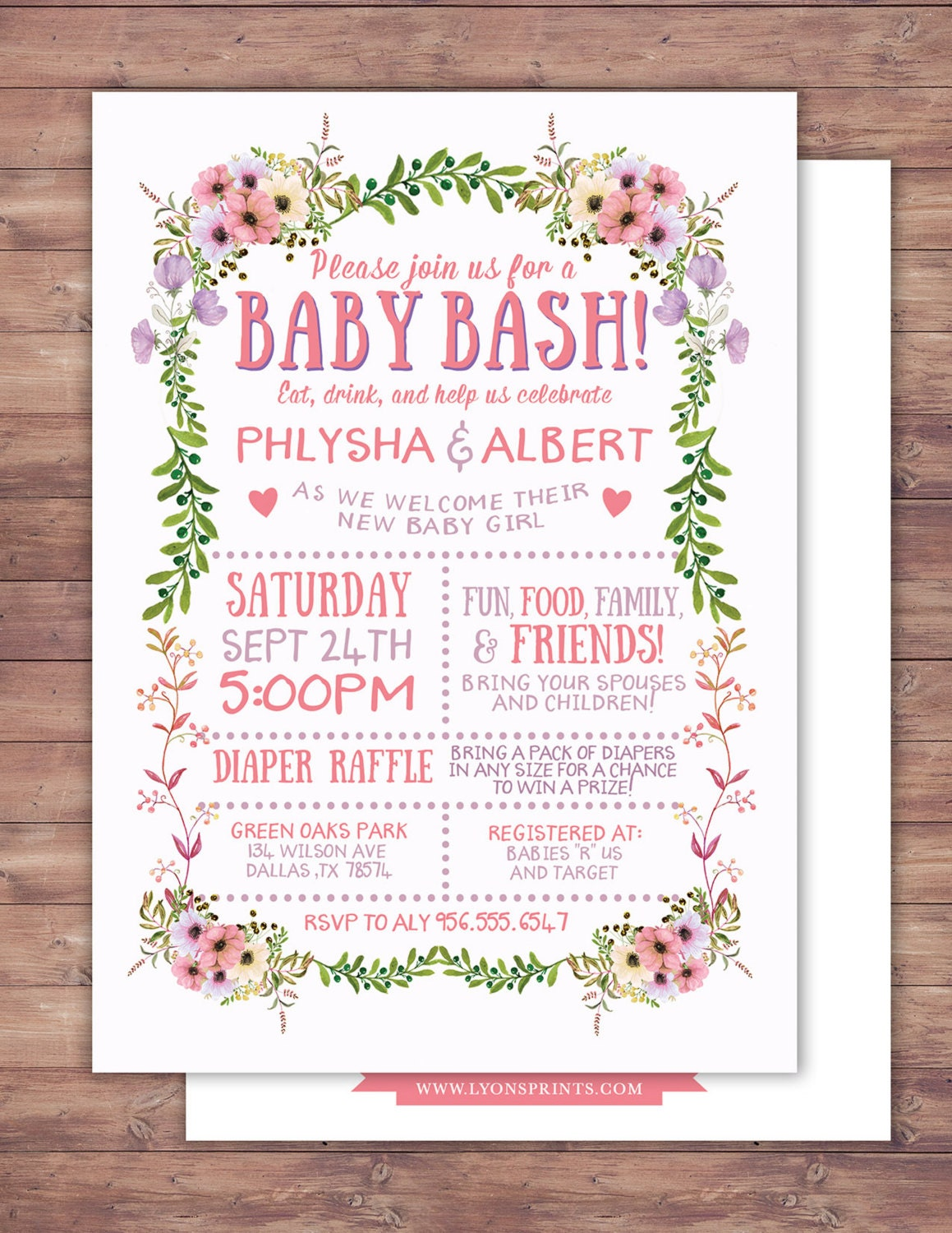 floral rustic boho babyq chalkboard couples coed baby shower bbq invitation babyq boy girl baby is brewing baby girl shower