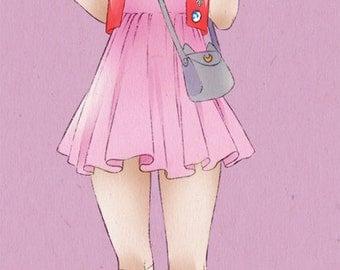 Sailor Moon > Bookmark (99mm x 210mm) - Chibiusa