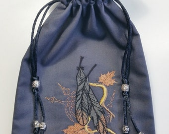 Fantasy Feathers Tarot Bag