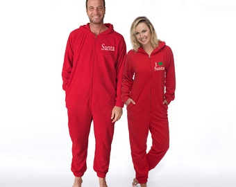 couples matching christmas pajamas - 340×270