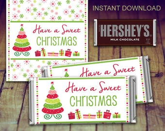 Christmas Candy Bar Wrapper, Christmas Wrapper, Christmas Printable, Christmas Teacher Gift, Christmas Favour, Christmas Party, Christmas Ca